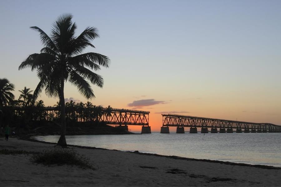 Alte Brücke vom Bahia Honda State Park Florida