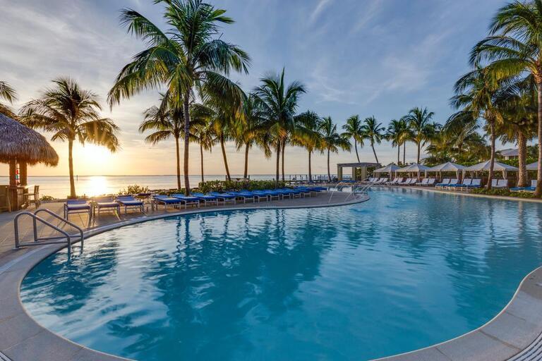 Pool vom South Seas Island Resort auf Captiva Island